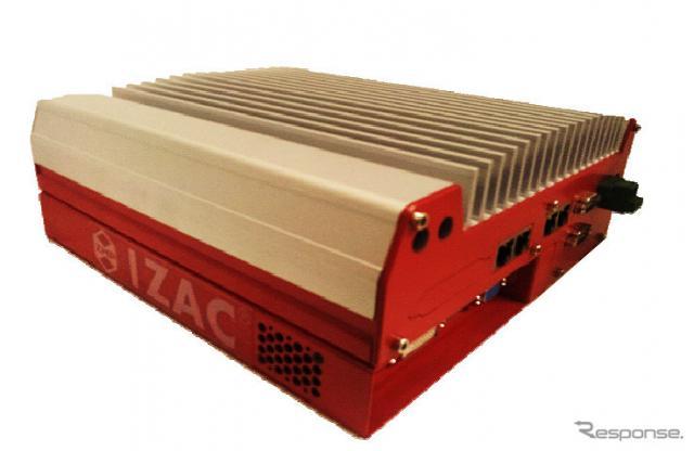 ZMPの自動運転向け車載コンピューター IZAC