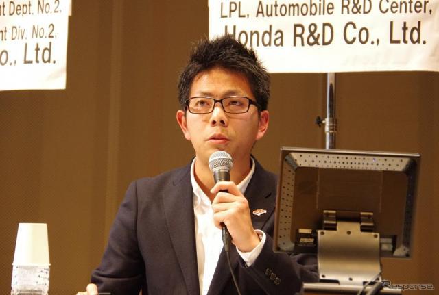 椋本陵氏(本田技術研究所四輪R&Dセンター LPL室S660 LPL)《撮影 宮崎壮人》