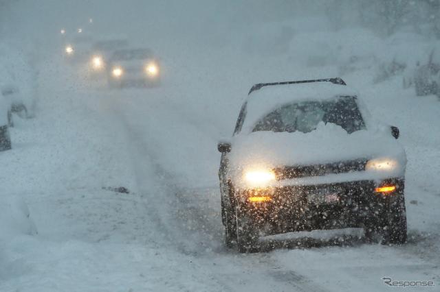 積雪時の街の様子(イメージ)《画像 GettyImages》