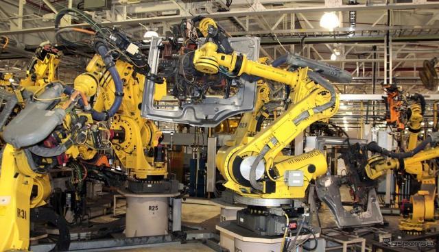 FCA USの米ミシガン州ウォーレン工場