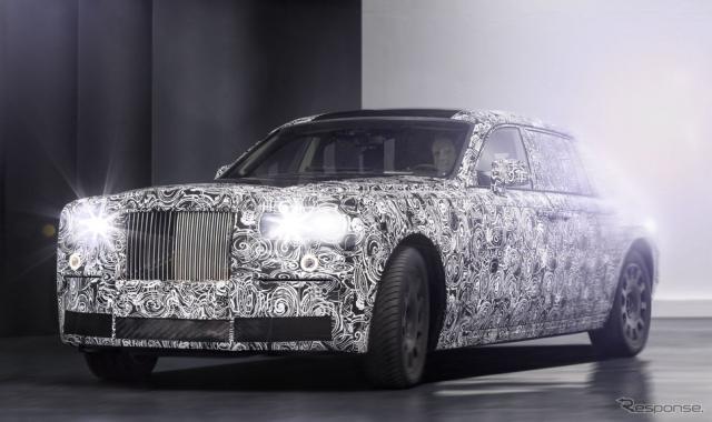 ロールスロイスの新世代アルミ構造の開発テスト車両