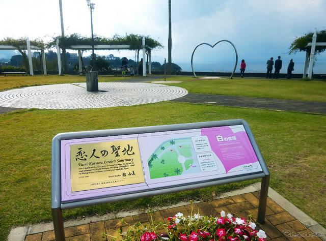 「恋人の聖地」としてカップルなどに人気の大村湾パーキングエリアは、長崎市内から長崎自動車道を通ってクルマで35分(43km)《撮影 大野雅人(Gazin Airlines)》
