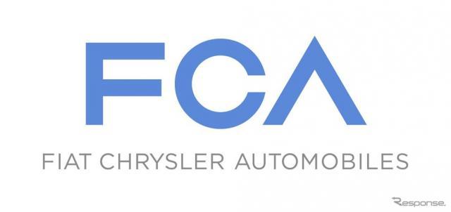 フィアット クライスラー オートモービルズ(FCA)のロゴ