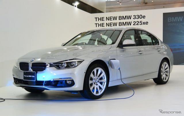 BMW 330e《撮影 小松哲也》