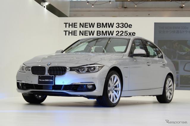 BMW 330e《撮影 内田俊一》