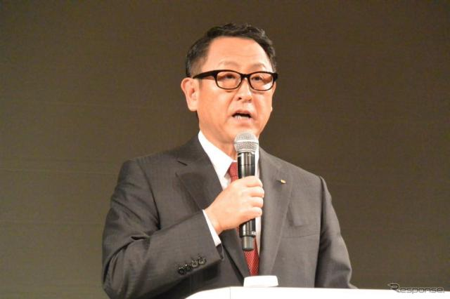 トヨタ自動車 豊田章男 社長(資料画像)《撮影 小松哲也》