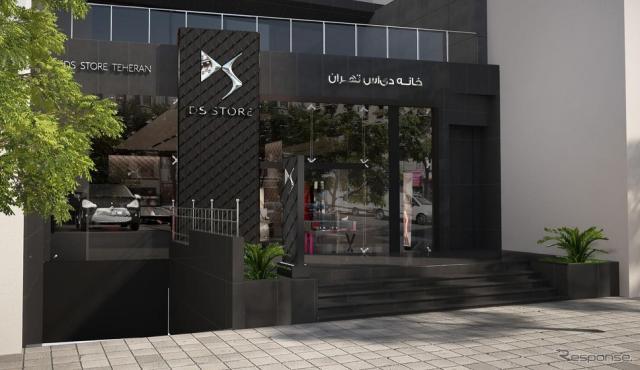テヘランに開業したDSストアのイラン第一号店