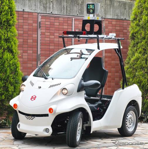 Autoware 搭載ZMP RoboCar MV2