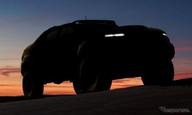 GMの新型燃料電池車の予告イメージ