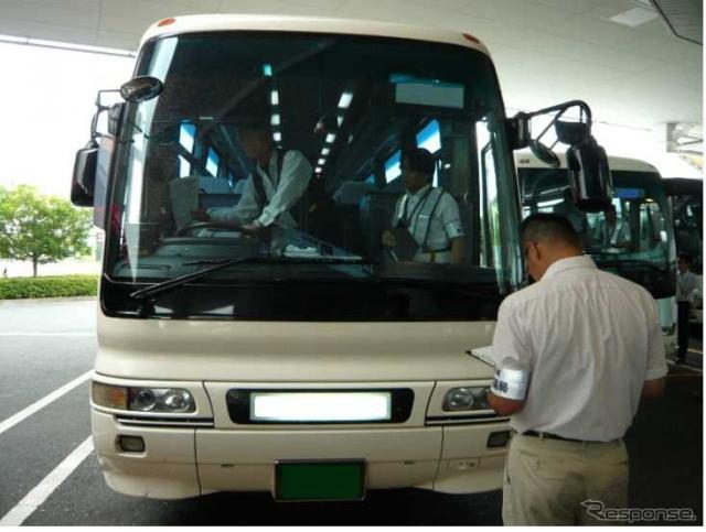 羽田空港国際線ターミナルでの検査《画像 国土交通省関東運輸局》