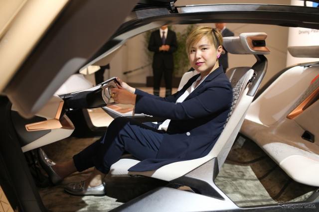 18台目のBMWアートカーを手がける中国のCao Fei氏