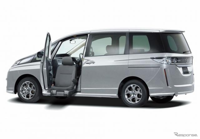 福祉車両 マツダ ビアンテ GRANZ-SKYACTIV 助手席リフトアップシート車