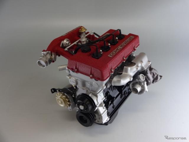 FJ20ETエンジン 6分の1スケールモデル