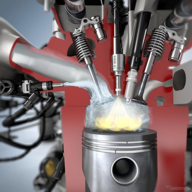 ボッシュのウォーター インジェクション、最大13%燃費向上