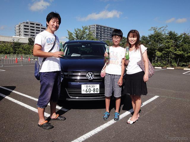 体験試乗キャンペーン「Try! Try! Try! Volkswagen」(宮城・イオンモール名取、9月3日のようす)《撮影 大野雅人(Gazin Airlines)》