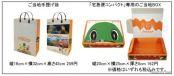 ご当地手提げ袋、「宅急便コンパクト」専用のご当地BOXによる観光情報のPR