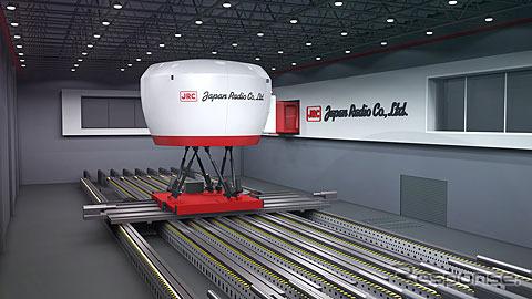 6軸モーションベース ドライビングシミュレーター