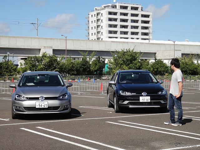 体験試乗キャンペーン「Try! Try! Try! Volkswagen」(宮城・イオンモール名取、9月3日)《撮影 大野雅人(Gazin Airlines)》
