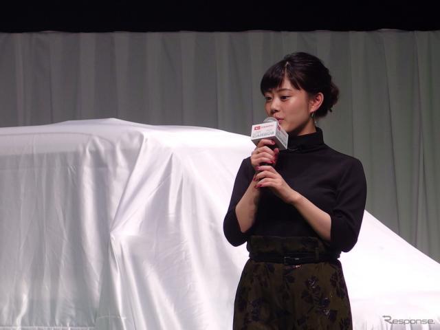 高畑充希(7日、ムーヴキャンバス発表会)〈撮影 高木啓〉