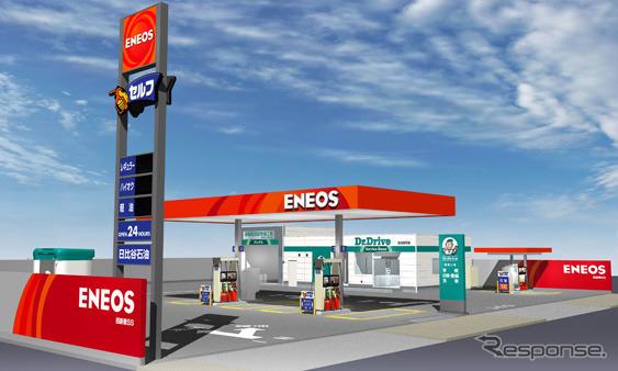 ENEOSサービスステーション(イメージ)