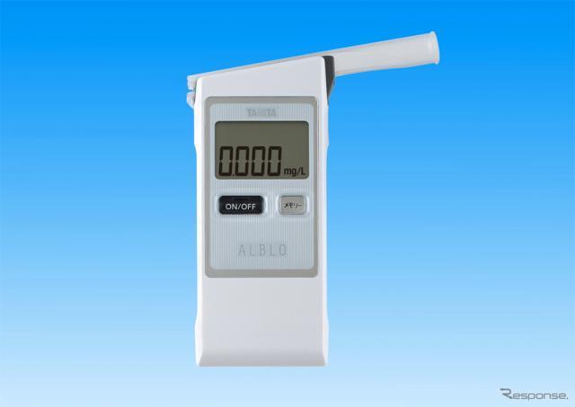 タニタ 燃料電池式アルコール検知器 アルブロFC-900