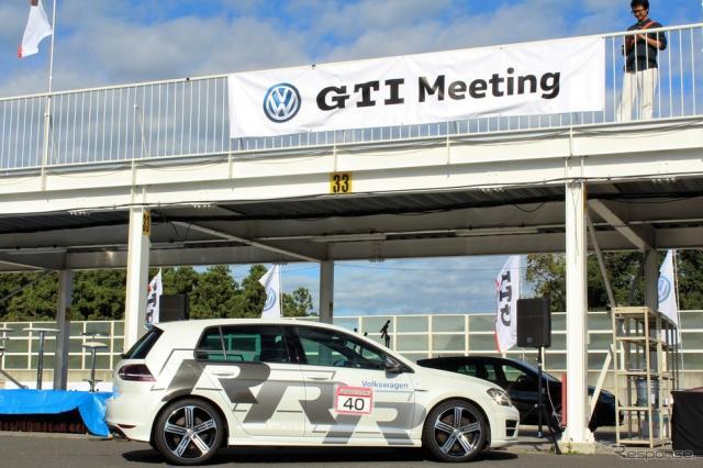 フォルクスワーゲン GTI 生誕40周年を祝う…サーキットタクシーも《撮影 内田俊一》