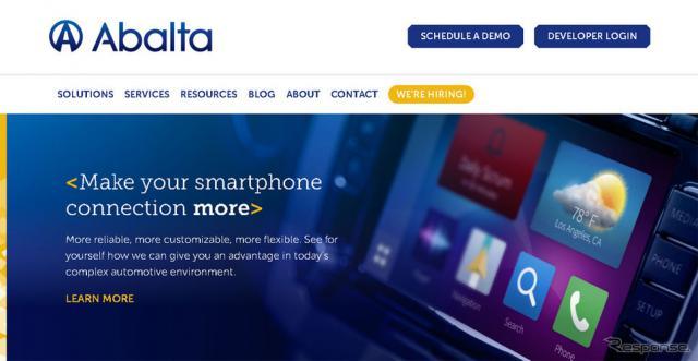 米国Abalta Technologies社(WEBサイト)
