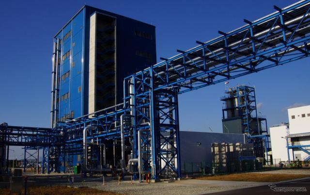 韓国麗水のウルトラゾーンの工場