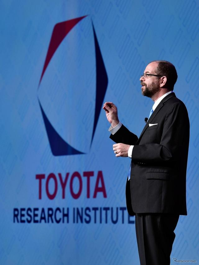 「TOYOTA RESEARCH INSTITUTE, INC.(TRI)」CEOのギル・プラット博士(CES16)《写真 Getty Images》