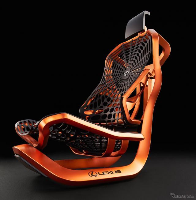 レクサスのKinetic Seat Concept