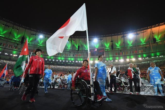 2016年リオ・パラリンピック閉会式(c) Getty Images