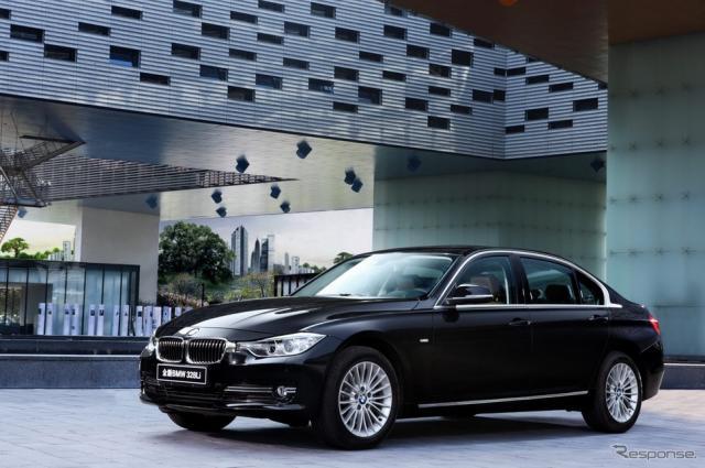 新型BMW 3シリーズセダンのロングホイールベース仕様