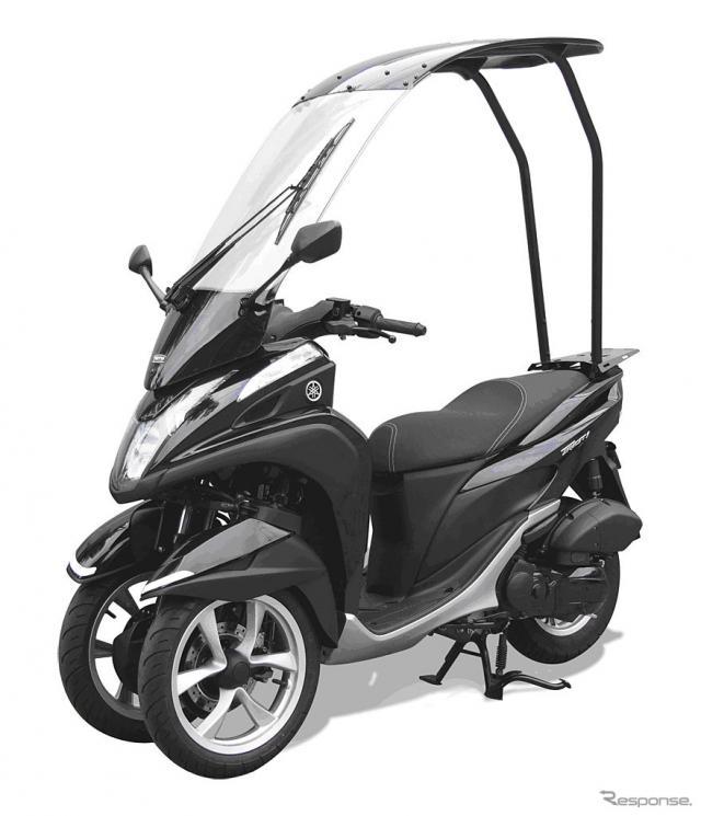 ルーフキット SLR for Tricity(装着車両)