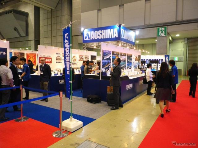 アオシマ(第56回全日本模型ホビーショー、9月23日)〈撮影 高木啓〉