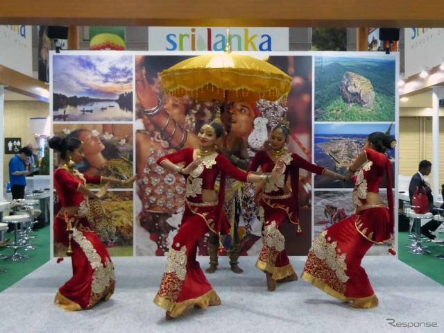 圧巻の舞いを披露したスリランカの民族舞踊