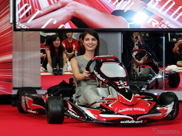 「TOYOTA GAZOO Racing WOMAN BOOTCAMP@MEGA WEB」(東京・台場 メガウェブ、9月24日)《撮影 大野雅人(Gazin Airlines)》