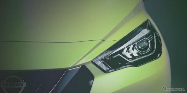 日産 マーチ 次期型と見られる新型車の豊富なボディカラー