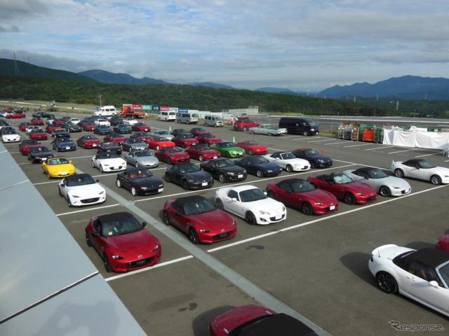 「Be a driver. Experience at FUJI SPEEDWAY」《撮影 福田俊之》