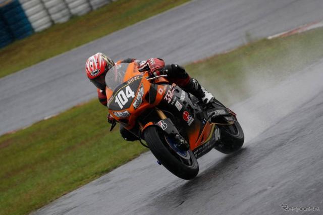 優勝した山口〈写真提供:TOHO Racing〉