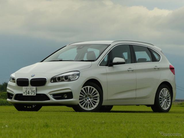 BMW 218d アクティブツアラー Luxury《撮影 島崎七生人》