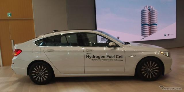 BMW・燃料電池ブレゼンテーション《撮影 松下宏》