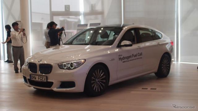 BMW・燃料電池《撮影者 松下宏》