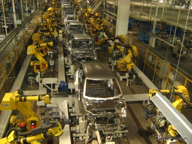 マルチ・スズキのマネサール工場(参考画像)