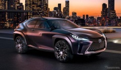 【パリモーターショー16】レクサス UX 初公開…小型クロスオーバー車を示唆
