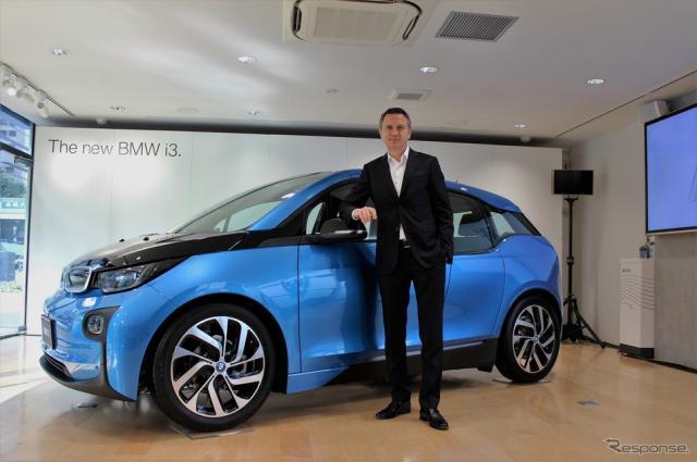 ビー・エム・ダブリュー(BMWグループジャパン)代表取締役社長のペーター・クロンシュナーブル氏《撮影 内田俊一》