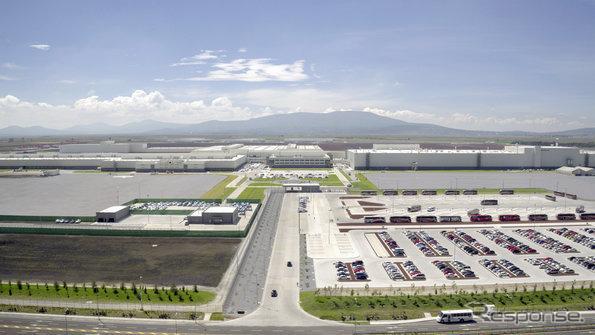 アウディのメキシコ工場