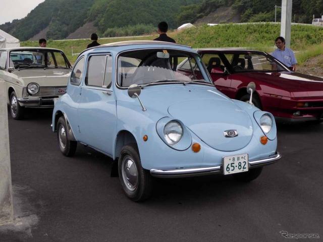 昭和の高度成長期に家族の足となったスバル360