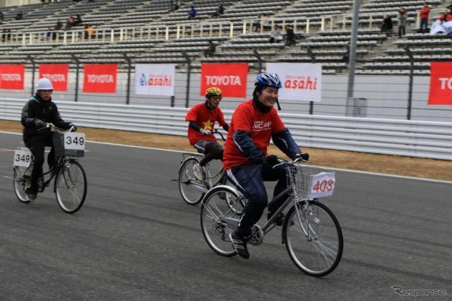 あさひスーパーママチャリグランプリ ママチャリ日本グランプリチーム対抗7時間耐久ママチャリ世界選手権