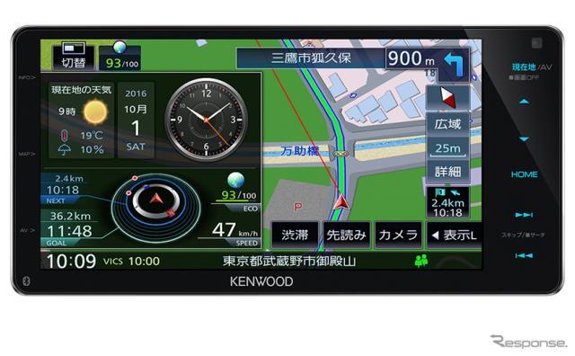ケンウッド 彩速ナビ MDV-Z904W