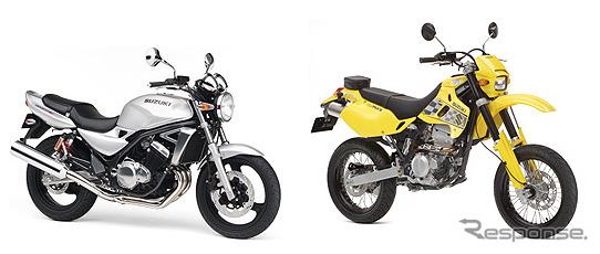 スズキ GSX250FXと250SB